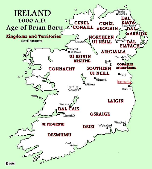Map Of Ireland Vikings.Viking Archaeology Ireland C 1000 Ad