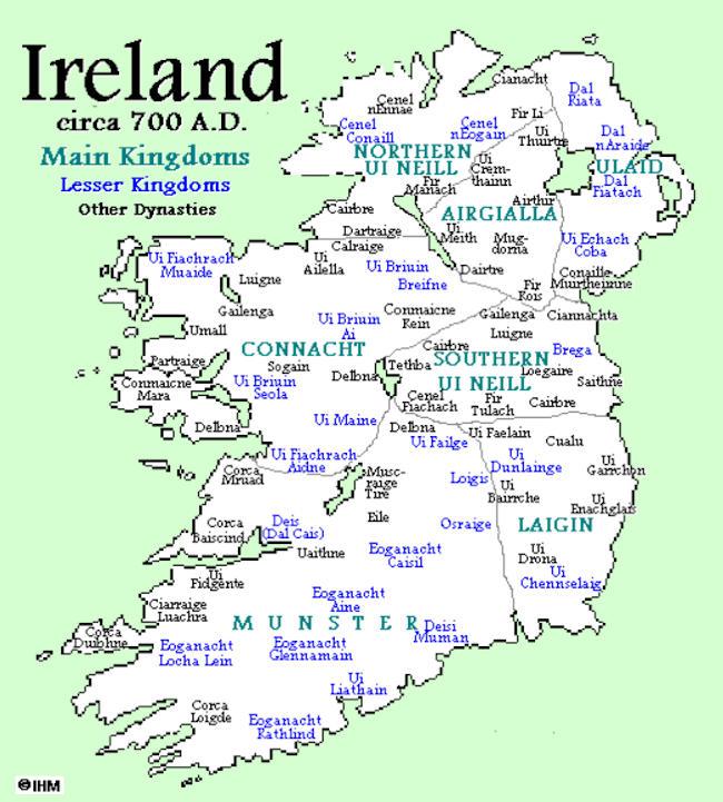 Map Of Ireland Vikings.Viking Archaeology Ireland C 700 Ad