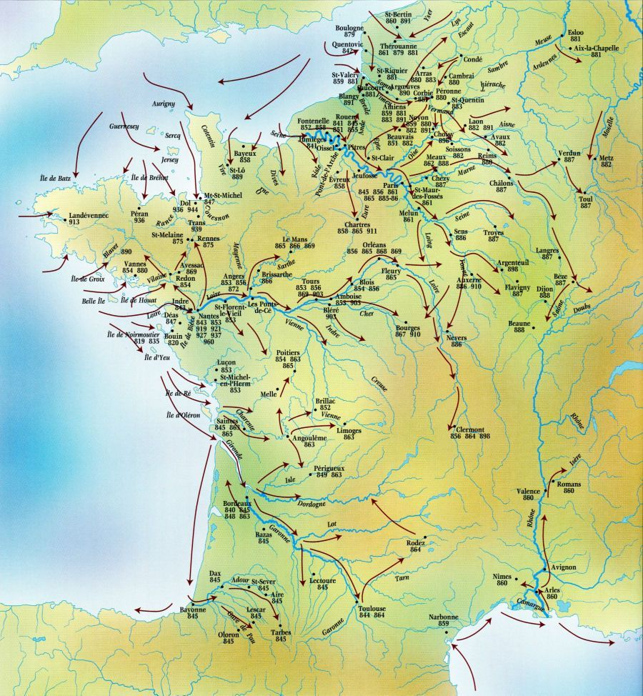 Viking Archaeology - Viking Raids in France